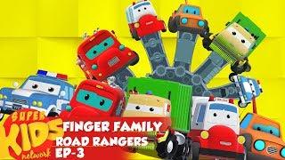 Road Rangers Finger Family Nursery Rhymes Video For Kids