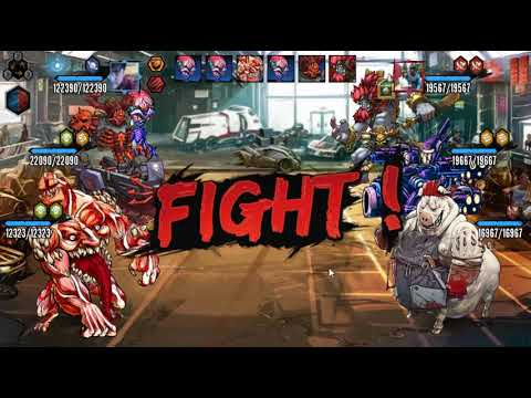 Mutants Genetic Gladiators - El evento de cabezoncito avengers