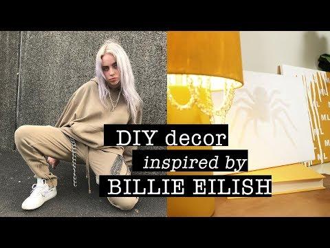 DIY Decor Inspired by BILLIE EILISH