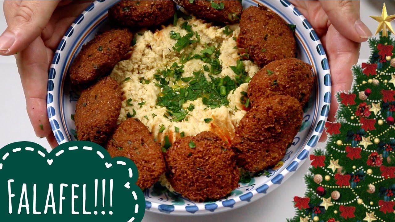 Antipasti Di Natale Vegani.Falafel Fritti Di Ceci Ricetta Facile Mediorientale Idea