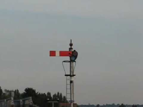 The Last Working Semaphore Signals on a London Branchline.