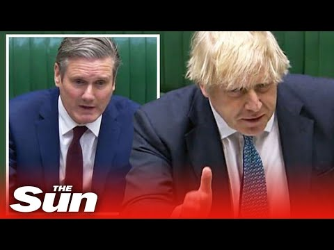 PM Boris Johnson Answers Questions From Keir Starmer In PMQs
