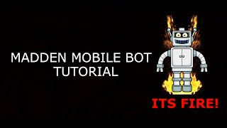How to get bot/autotouch on madden mobile 2015 (jailbreak)