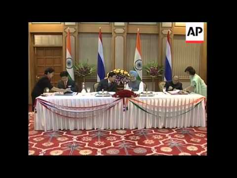 Thai PM meets Indian counterpart and business leaders