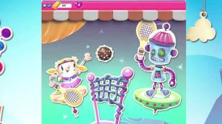 Candy Crush Saga Level 1204-1205-1206-1207, NEW! Complete!