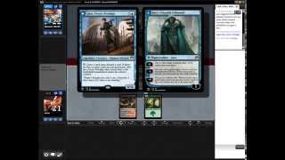 Magic the Gathering Online - Standard Commentary - RGish Aggro vs UW Control