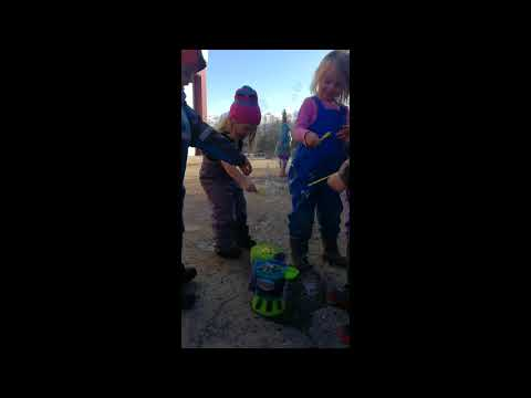 Beginners Pop  Big Bubbles| Pacific Northern Academy | Anchorage, Alaska