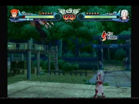 NARUTO SHIPPUDEN: Clash of Ninja Revolution 3 - Bando v.s ...