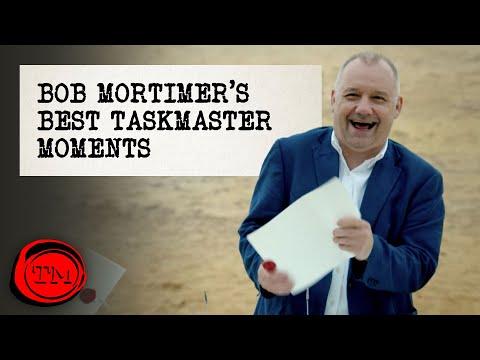 Bob Mortimer's Best Taskmaster Moments