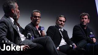Joaquin Phoenix, Todd Phillips & Crew on Joker, Realism, and Reimagining Gotham City | NYFF57