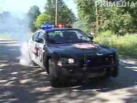 Dodge Charger Police >> Police Dodge Charger Burnout - YouTube