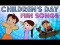 GreenGoldKids - Children's Day Fun Songs Compilation | Chhota Bheem & Mighty Raju songs