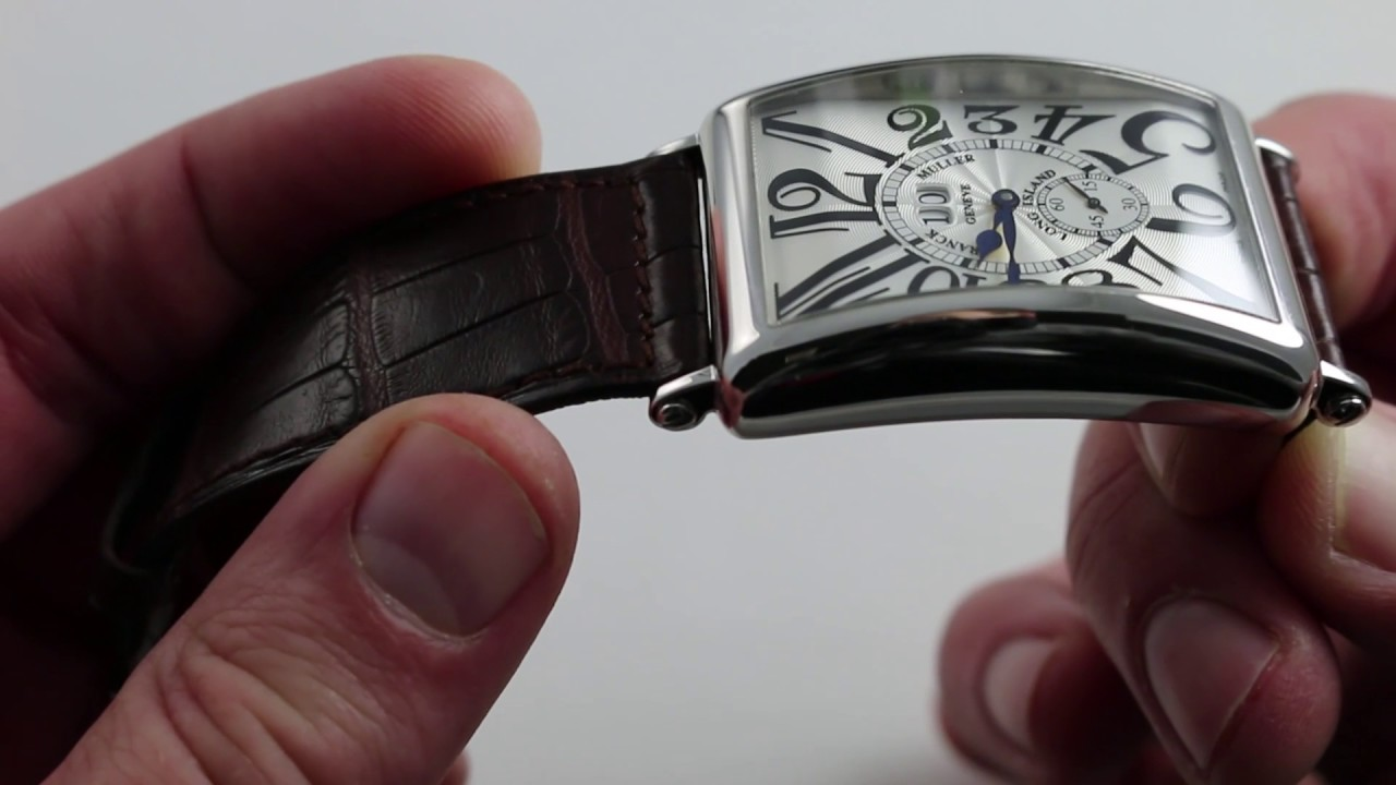 5a9f5e15574 Pre‑Owned Franck Muller Long Island Big Date 1200 S6 GG Luxury Watch Review