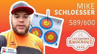 Mike Schloesser shoots 589/600 for qualification | Lockdown Knockout