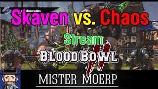 [Blood Bowl 2] Stream: Skaven vs Chaos - Alles für Nuffle! [deutsch/german]