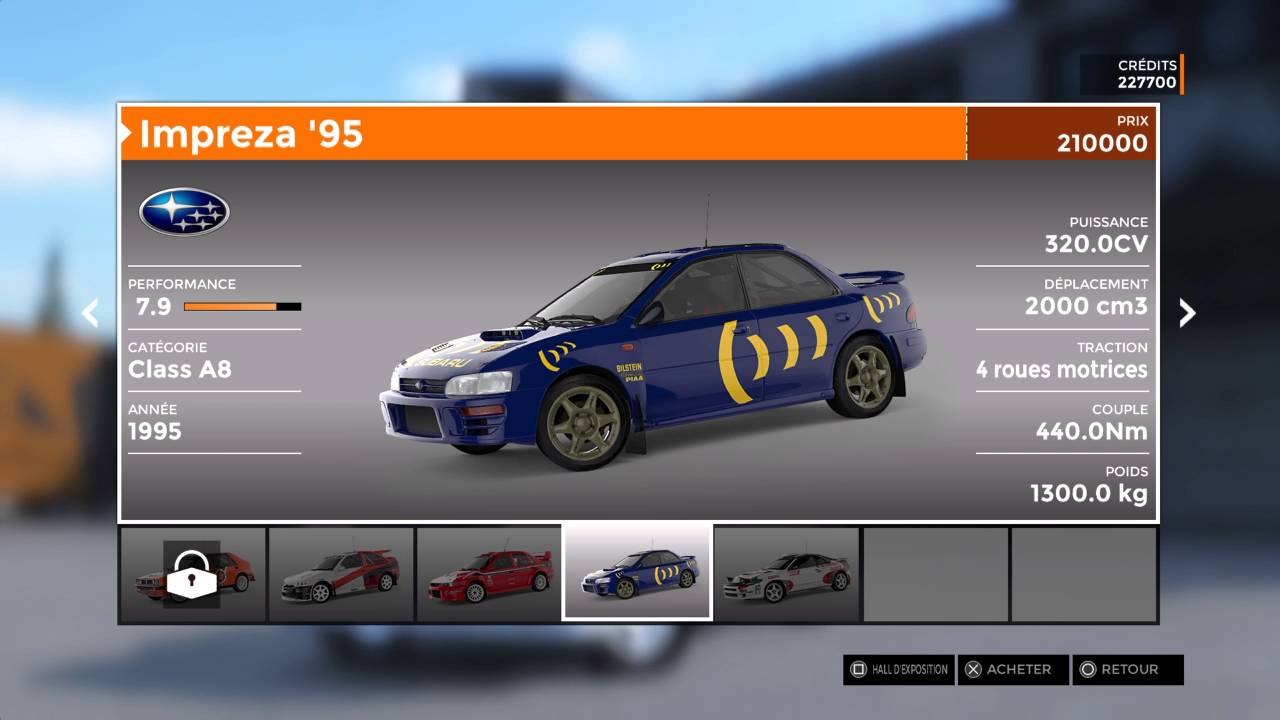 Sébastien Loeb Rally EVO PS4 - Car List + Pikes Peak DLC (405 T16 ...