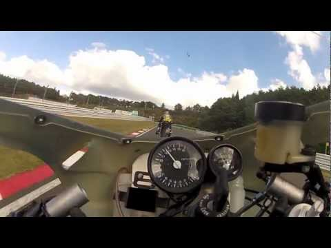 VFR400(NC30) Chase after CB400 Super Four