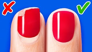 36 NAIL HACKS EVERY GIRL SHOULD KNOW