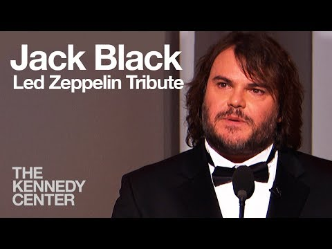 Led Zeppelin Tribute - Jack Black - 2012 Kennedy Center Honors