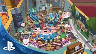 Family Guy Pinball Trailer | PS4, PS3, PS Vita