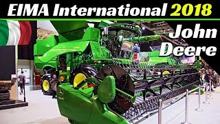 EIMA International 2018 - John Deere Tractors, Harvesters & More! - 9470RX, 8370RT, 622F, etc.