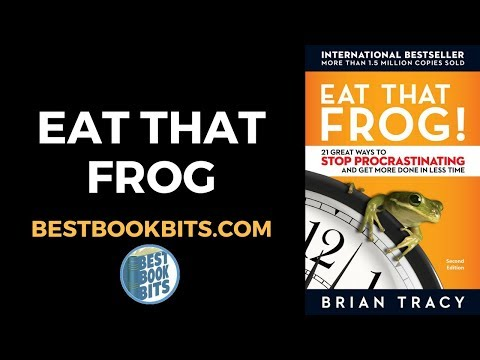 Brian Tracy: Eat That Frog Summary Book Summary Mp3