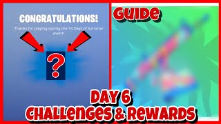 Fortnite 14 Days Of Summer Day 6 Challenges and Rewards! Search Unicorn Floaties At Swimming Holes