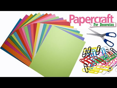 3 amazing craft idea with color paper | paper craft for home decoration | paper craft ideas