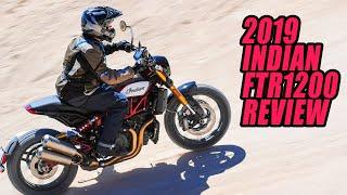 Gambar cover 2019 Indian FTR1200 Review