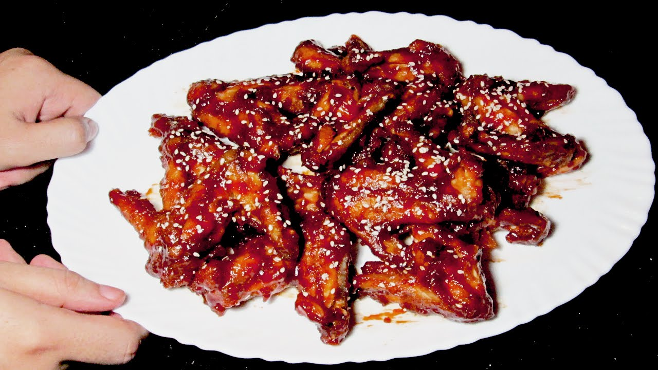 Bbq Chicken Wings Recipe Homemade Chicken Wings With Barbecue