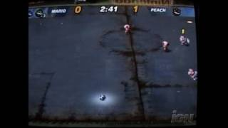 Super Mario Strikers GameCube Gameplay - GC Convention