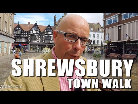 Walks in Shropshire: Shrewsbury Town Walk