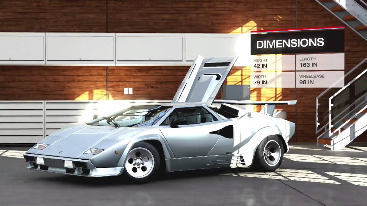 Lamborghini Countach Lp5000 Qv 1988 Interior Specs Parts