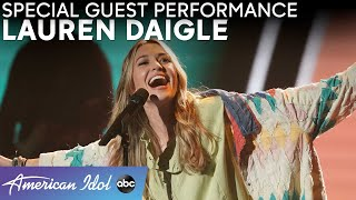 "Lauren Daigle Performs ""Look Up Child"" During Comebacks! - American Idol 2021"