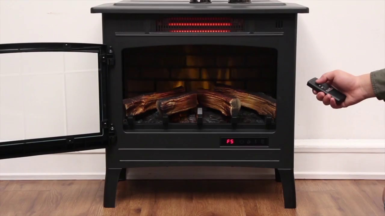duraflame dfi 5010 01 stove review at a glance youtube