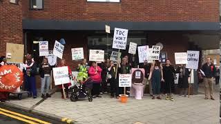 Toilet protest video John Horton