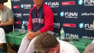 Bobby Valentine on Terry Francona and Josh Beckett Red Sox.flv