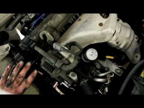 How To Replace Drive Belts Toyota Camry 91-96