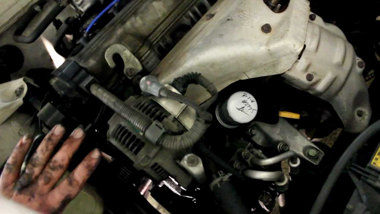 96 Toyota Camry Wiring Diagram How To Replace Drive Belts 91 Youtube
