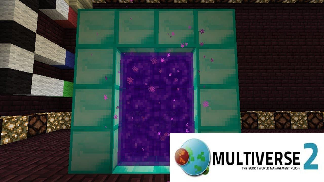 minecraft multiverse portals plugin