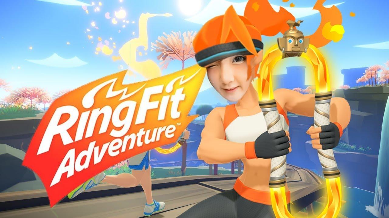 เกมอะไรเล่นแล้วหัวเปียก | Ring Fit Adventure (Day 2)