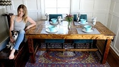 The $50 Farmhouse Table - Easy DIY Project