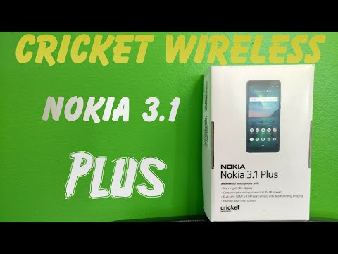 Nokia 3.1 Plus Cricket Wireless Unboxing and First Look