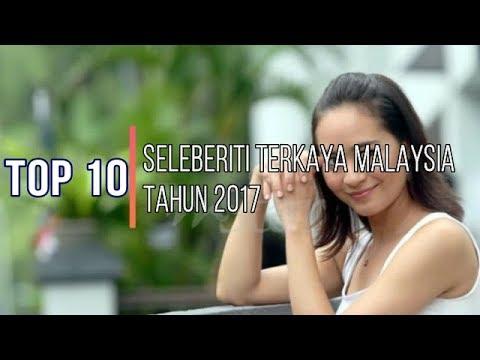Top 10 Selebriti Terkaya di Malaysia 2017 -  No.4 tu memang tak disangka...
