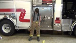How to Put on Firefighter Turnouts