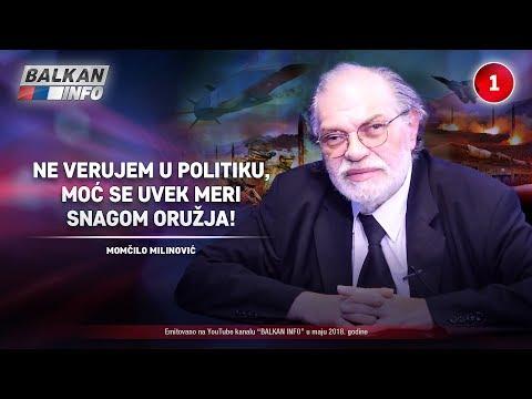 INTERVJU: Momčilo Milinović - Ne verujem u politiku, moć se uvek meri snagom oružja! (10.05.2018)