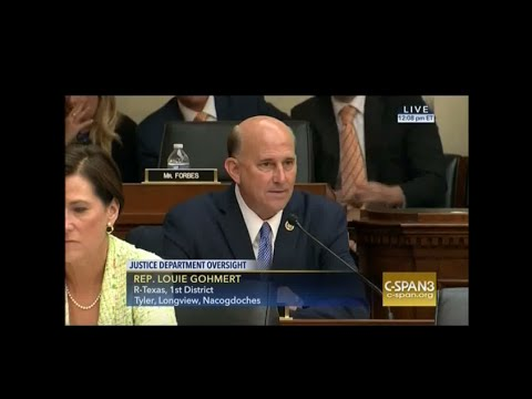Gohmert to AG Lynch: Your Oath Is Your Own Responsibility To Our Constitution