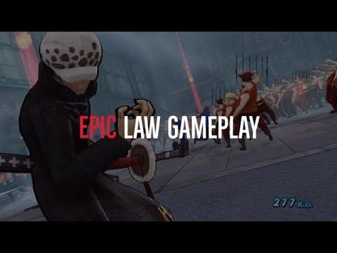 ONE PIECE  PIRATE WARRIORS 3 Epic Law Gameplay #onepiece #trafalgarlawgameplay  