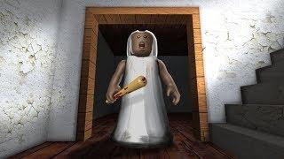 Roblox I old lady Granny Ghost Kill (Lag) I SJH Gaming