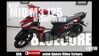 New Mio M3 125 Bluecore 2017  #Merah #Listbaru #View